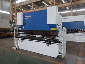100T 2500 2 محور کنترل ماشین آلات خم کن هیدرولیک مطبوعات