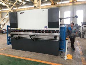 دستگاه خمش ورق 125 تن برای تشکیل فولاد ضد زنگ