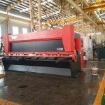 دستگاه 12x3200mm ورق فولادی گیوتین 3000mm دستگاه برش ورق فلزی 12mm برق