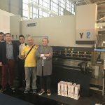 600 تن WC67K cnc ترمز فشار هیدرولیک برای فروش