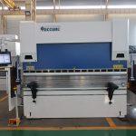 WC67K 500T / 4000mm cnc هیدرولیک فولاد ضد زنگ ترمز مطبوعات، ورق راندمان بالا ورق فلز خم ماشین