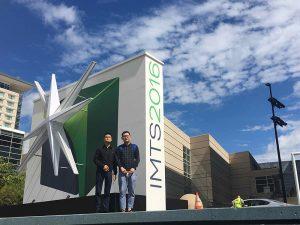 Accurl در سال 2016 در ماشین آلات شیکاگو و نمایشگاه اتوماسیون صنعتی شرکت کرد