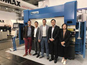 Accurl در نمایشگاه ماشین آلات بین المللی هانورن در آلمان در سال 2017 شرکت کرد