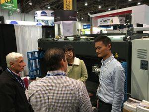 Accurl در نمایشگاه ماشین آلات لاس وگاس در ایالات متحده در سال 2016 شرکت کرد