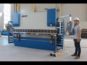 محور CE 2 محور CNC مطبوعات ترمز 130Tx3200 E200 NC سیستم کنترل NC ماشین فشار ترمز