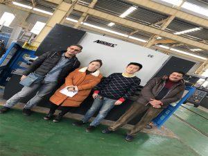 مشتریان مصر خرید دستگاه مطبوعات ترمز از شرکت Accurl