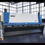 دستگاه برش گیوتین هیدرولیک MS8 8x4000mm با آلمان ELGO P40T صفحه لمسی CNC