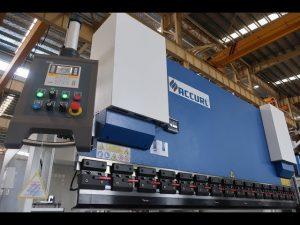 ترمز پرس هیدرولیک MB7-100Tx3200mm با مدافع لازارسفا و سیستم ELGO P40 NC