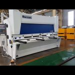 دستگاه برش گیوتین با استفاده از سیستم ELGO P40T CNC