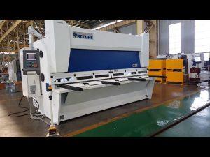 دستگاه برش گیوتین با استفاده از مدل ELGO P40T CNC