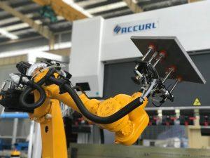 سیستم سلول خمشی روباتیک برای ترمز اتوماتیک ربات های خودکار ورق فلز