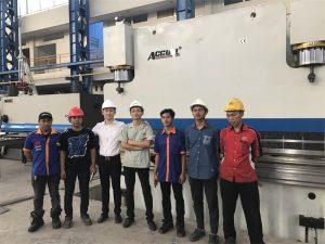 نمایندگی اندونزی برای بازدید از کارخانه ما آمده است