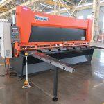 QC11y K-4X2500 فولاد ورق فلز هیدرولیک دستگاه برش گیوتین برای برش آلومینیوم آهن
