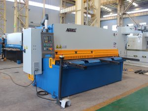 QC11y-16X3200 cnc برش فولاد ضد زنگ اتوماتیک دستگاه هیدرولیکی فولادی دستگاه برش گیوتین با E21