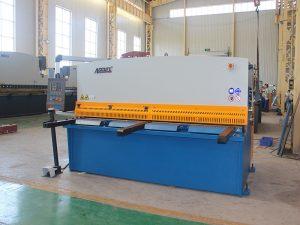 با نام تجاری معروف QC12y / K 12X3200 دستگاه برش هیدرولیکی با کیفیت خوب