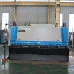 سنگین CNC هیدرولیک ورق ورق دستگاه برش قیمت ماشین