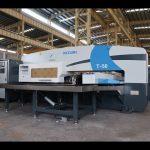 CNC بلبرینگ هیدرولیک پرس پانچ برای 30 تن cnc دستگاه پرس کردن پانچ