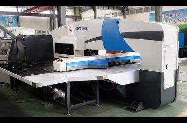 تولید کنندگان مطبوعات پانچ cnc - مطبوعات پانچ بلبرینگ - ماشین آلات پانچ مهره 5 محور Cnc