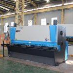 CNC هیدرولیک ورق برش ورق، دستگاه برش ورق هیدرولیک، QC12y-4X2500 E21s