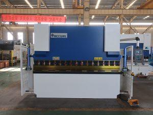 فولاد hign سرعت فولاد خم کن دستگاه پرس فولادی با کنترل estun e21 NC