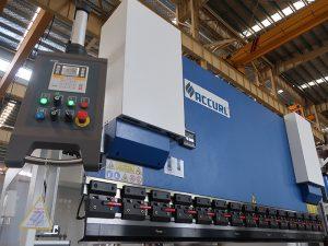 ترمینال فشار هیدرولیک هیدرولیک با سیستم کنترل estun E210 WC67Y- 125Ton / 3200mm با خدمات مهندس