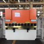 دستگاه پرس ترمز هیدرولیک WC67K 125T درب فشار، دستگاه خم کن 4M