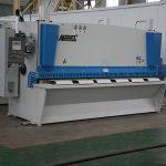 QC11Y cnc دستگاه برش هیدرولیکی، فولاد CNC دستگاه برش، دستگاه برش ورق فلزی