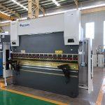 "CNC فولاد خم کن دستگاه DA66T کنترل CNC ترمز پرس 1600/6000 """