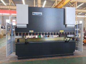 ایمنی استفاده می شود CN خدمات مطبوعات ترمز فولاد خم ماشین 80T 2500mm WC67K
