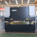 دستگاه خم کن دستگاه Wc67y 100t 3200 CNC فولاد ضد زنگ ترمز فشار هیدرولیک